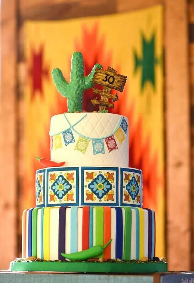 Mexican party cake Photo Tutus for Fiestas