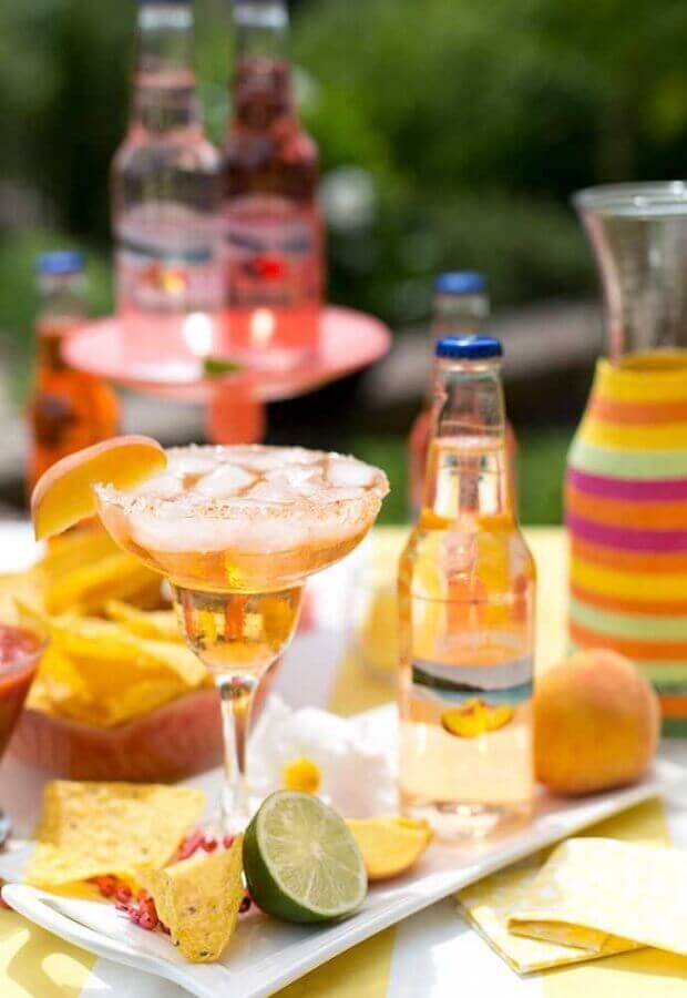 drinks table for mexican party Foto Pinterest