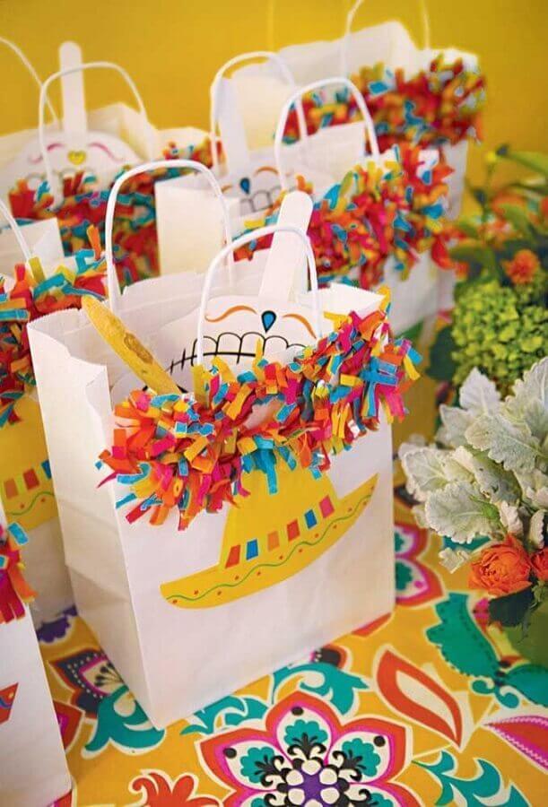 souvenir bags for mexican party Photo Pinterest
