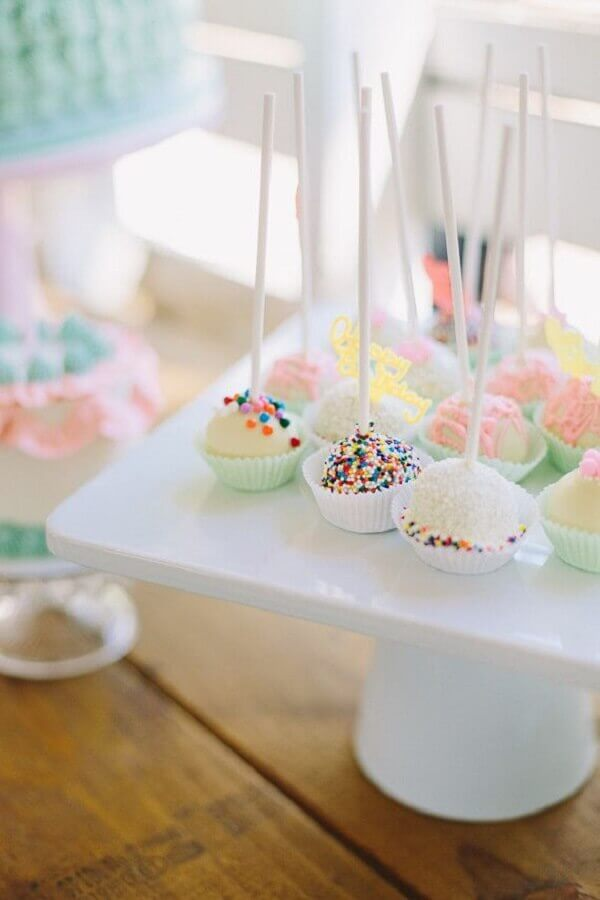 Decorated sweets for simple children's party Foto Pinterest