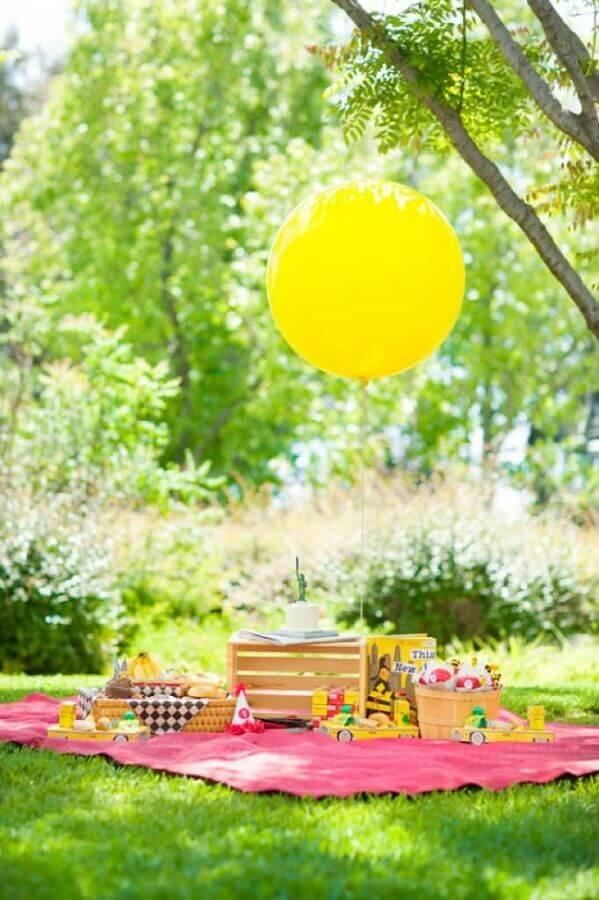 simple outdoor children's party Foto Pinterest