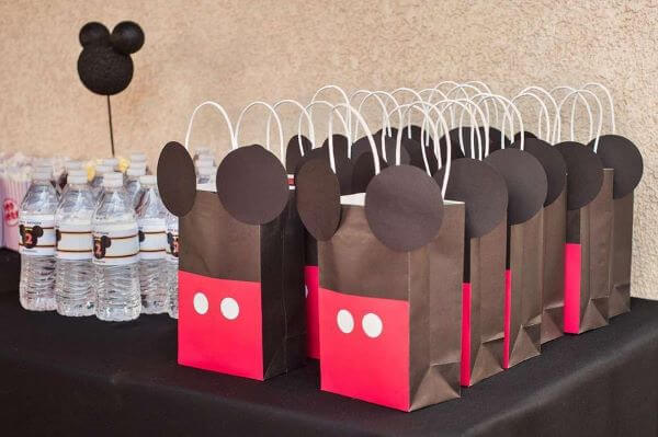 Mickey's surprise bag for children's party
