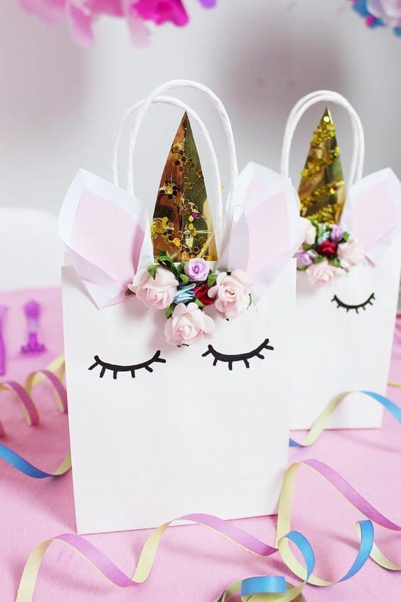 DIY Unicorn Surprise Bag