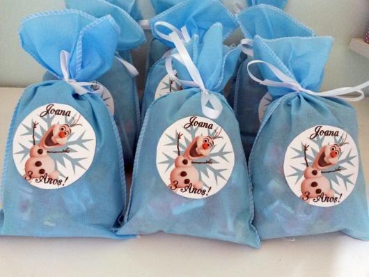Frozen surprise bag