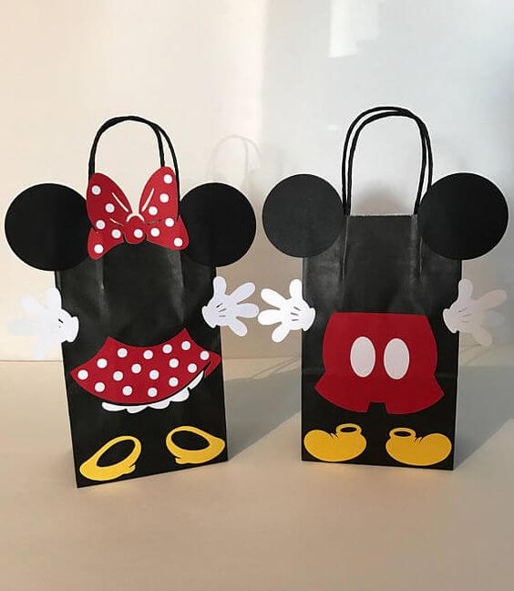 Surprise bag mickey and minnie