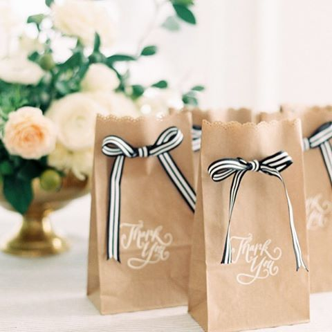 Surprise bag for wedding and engagement party