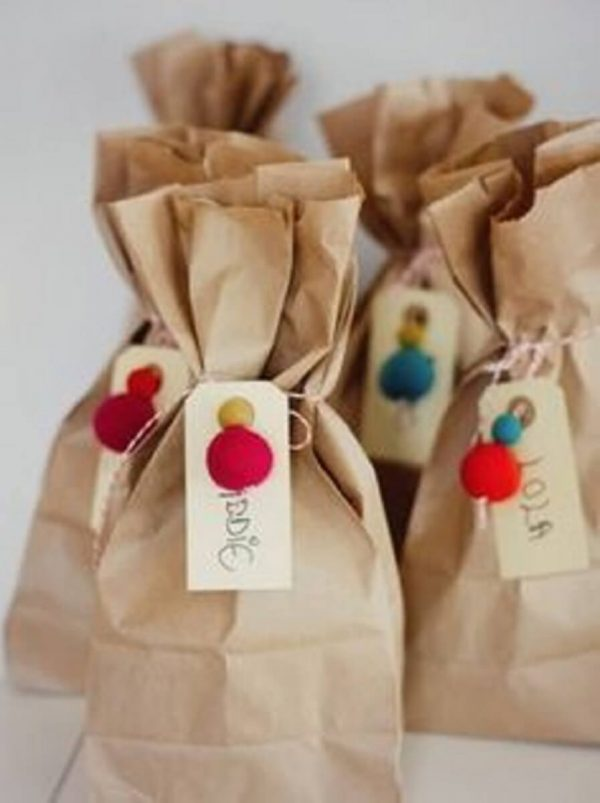Surprise bag for colorful party