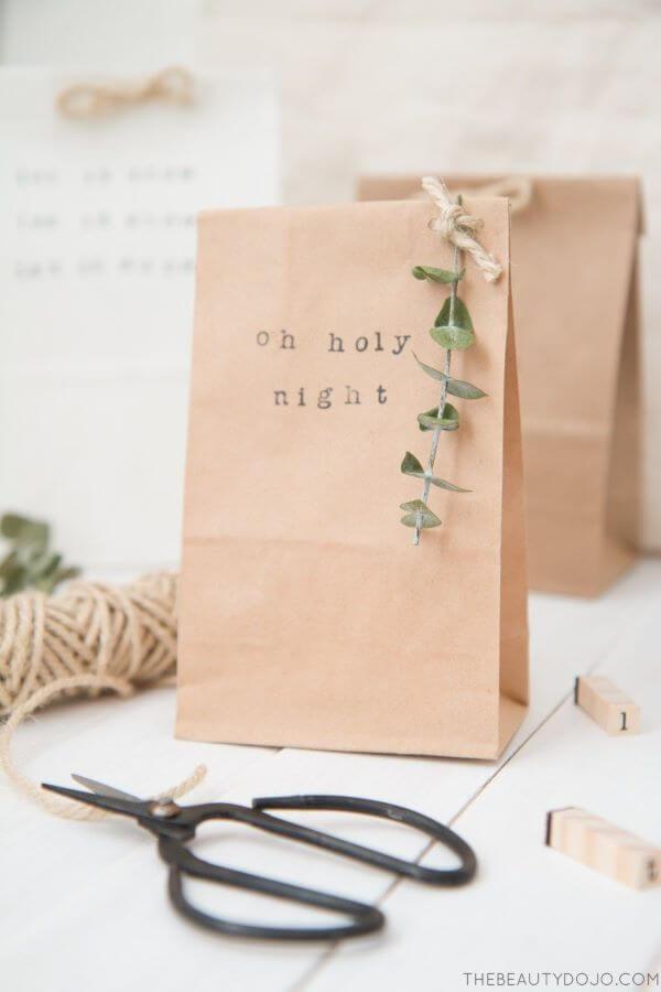Surprise souvenir bag for simple and beautiful children's party