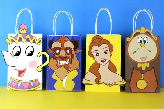 Surprise bag for Bela and the Beast's Children's Party