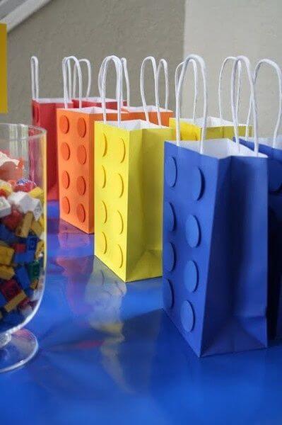 Lego's colorful surprise party bag