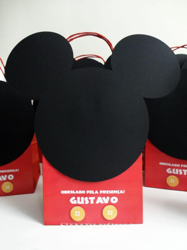 Decorated mickey surprise bag