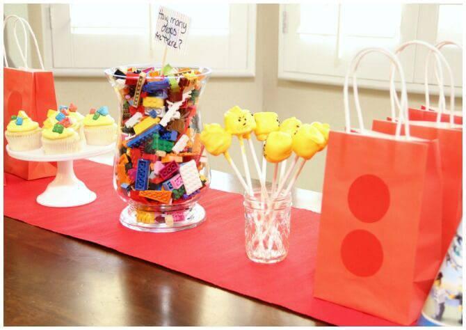 lego children's party decoration