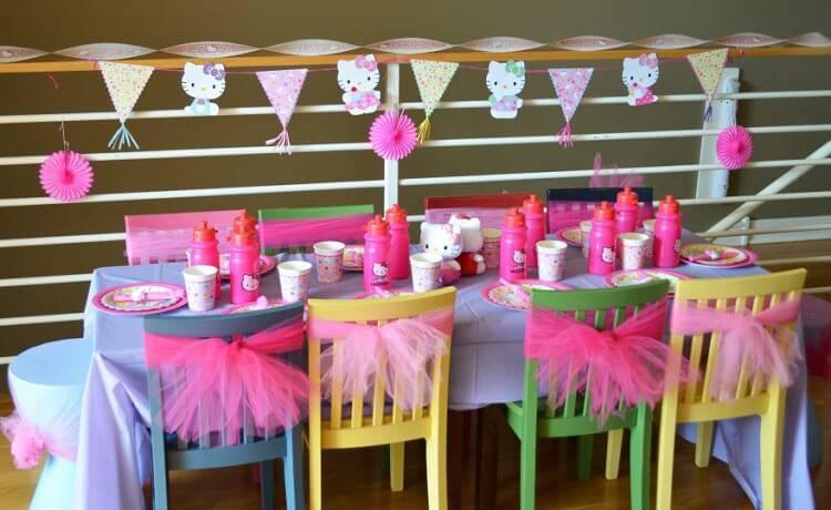 children's party decoration children's table