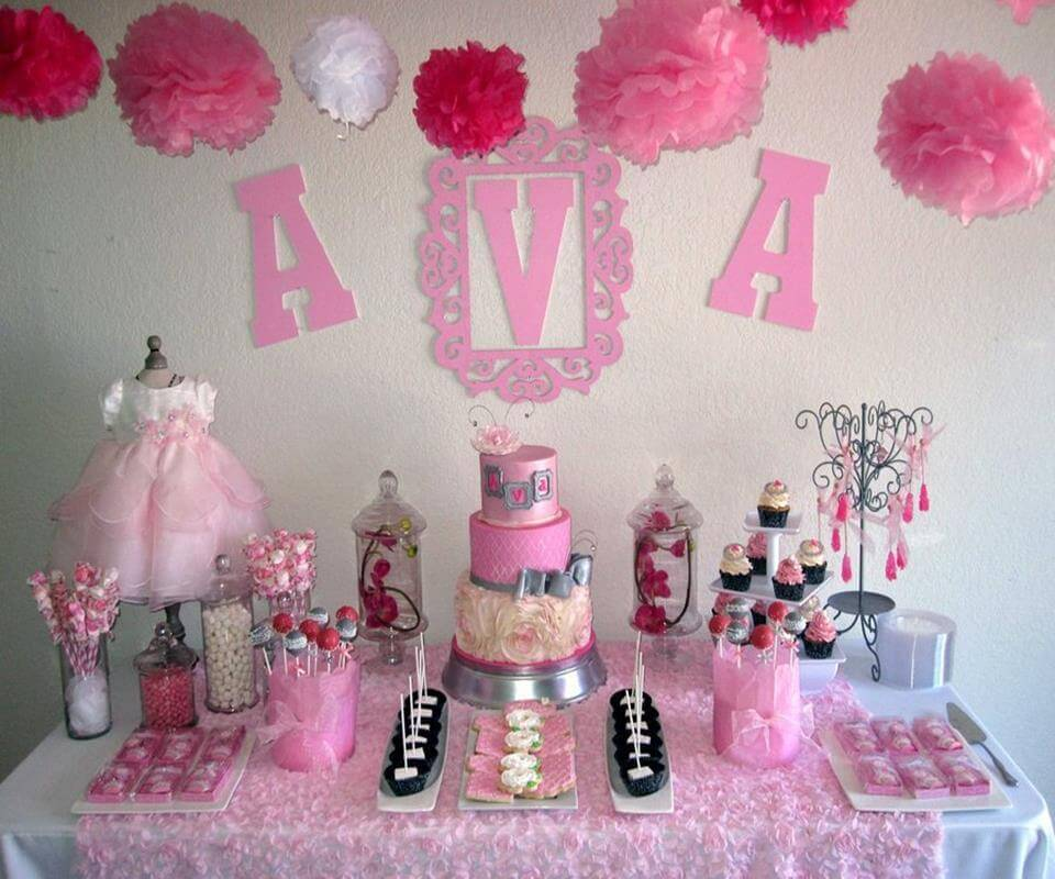 children's party decoration for girls