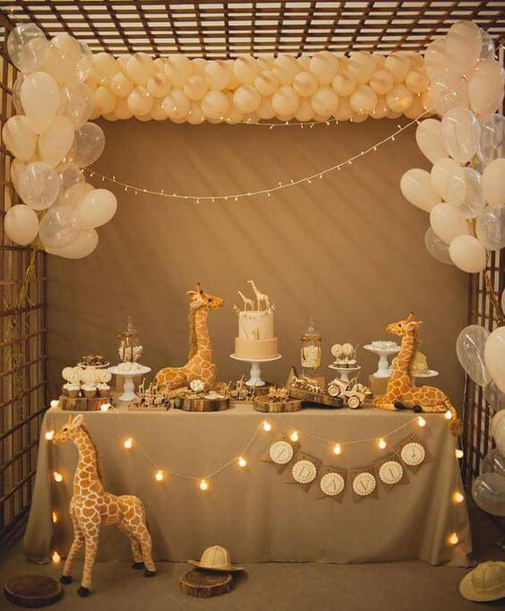 children's party zoo decoration