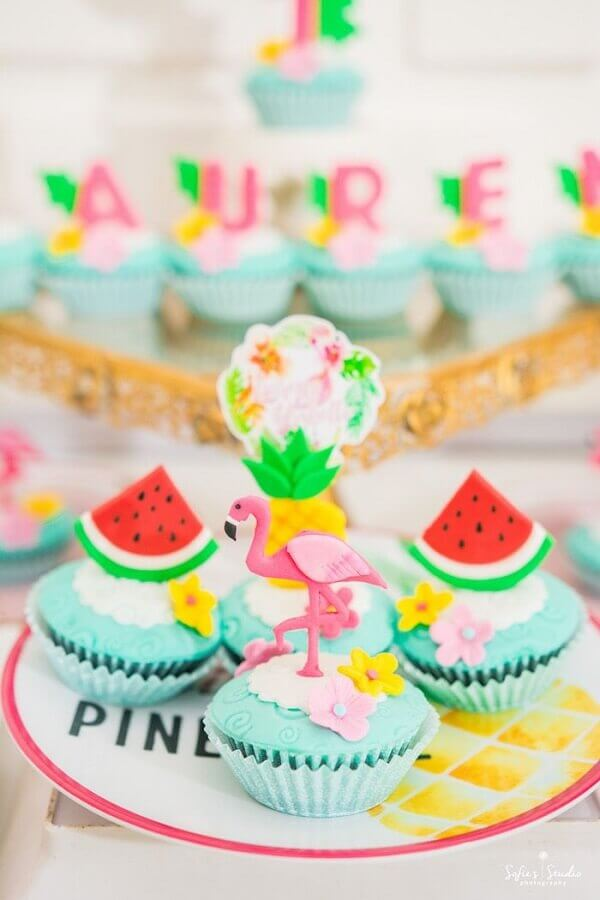 sweets for tropical party Foto Pinterest