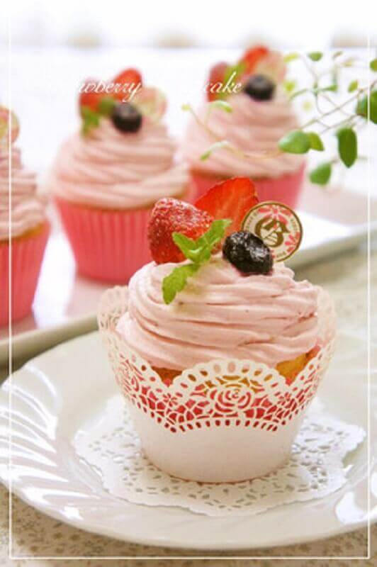 cupcake for simple tropical party Photo Cookpad