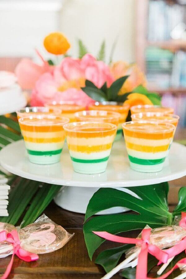 colorful sweets for tropical party Foto Pinterest
