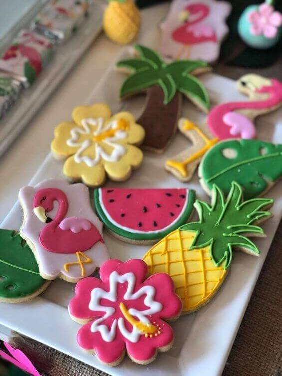 Tropical party candy