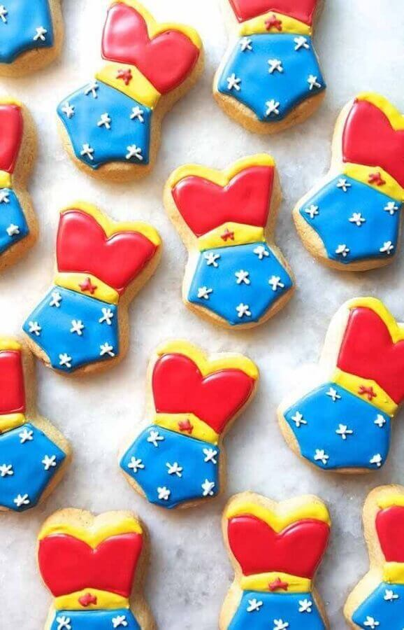Personalized sweets for Wonder Woman Party Photo Home Fashion Trend