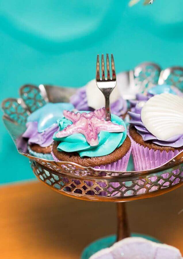 cupcakes for mermaid party Photo Ideas Decor