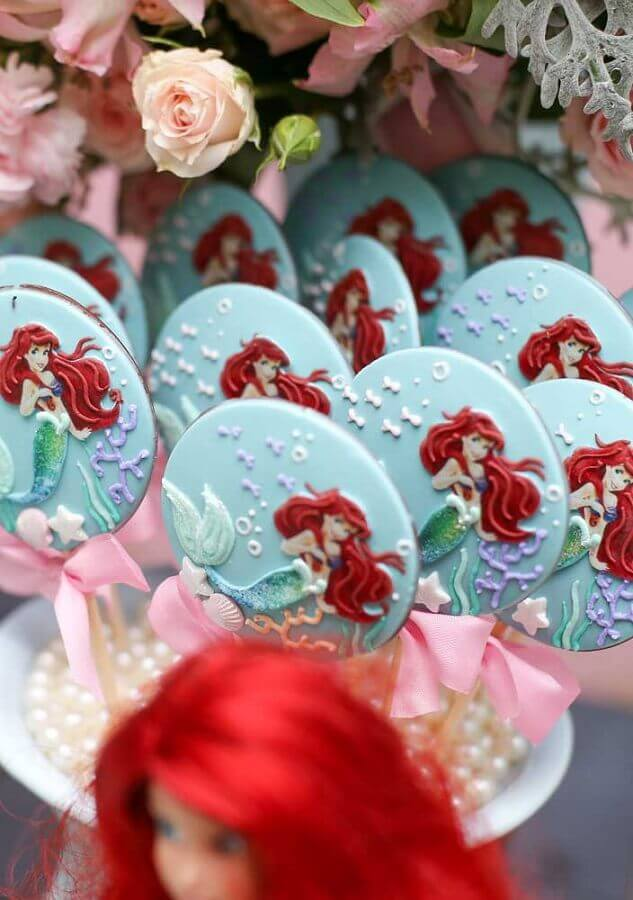 Personalized sweets for small mermaid party Photo Ideas Decor