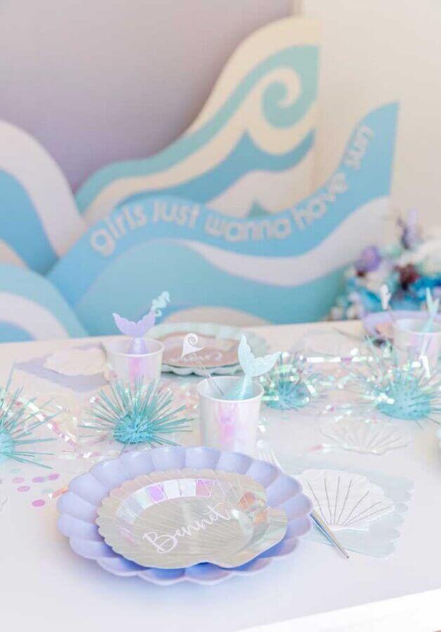 simple mermaid party Foto Webcomunica