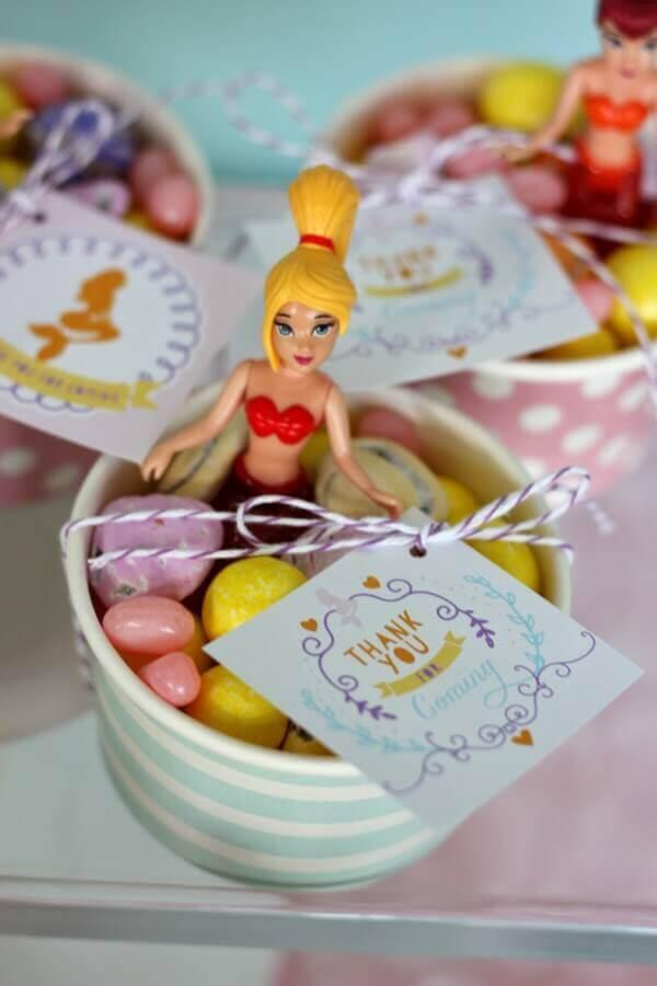mermaid party souvenir idea Photo Catch My Party