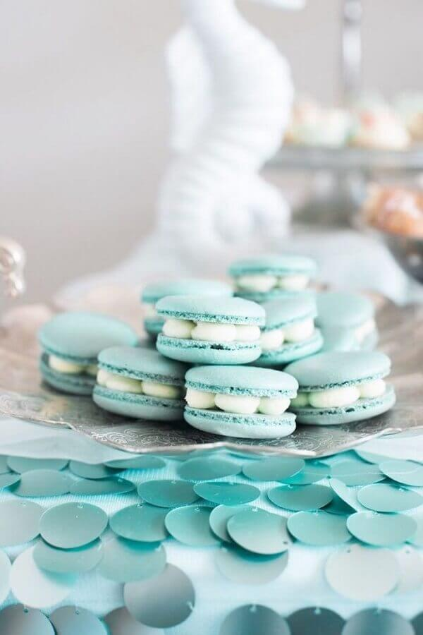 macaroons for mermaid party Photo My Little Party