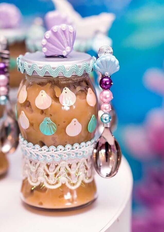 mermaid party candy jar Foto Pinterest