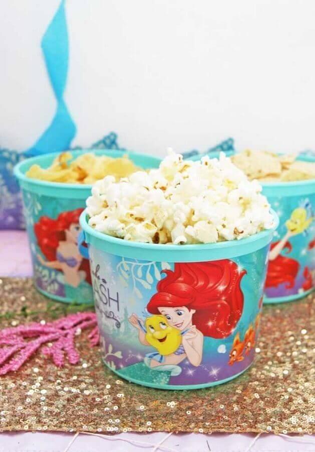 small mermaid party snacks Photo Pinterest