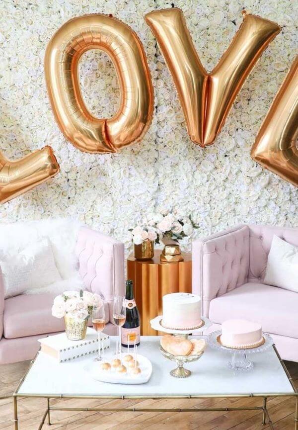 Valentine's Day ideas decorated