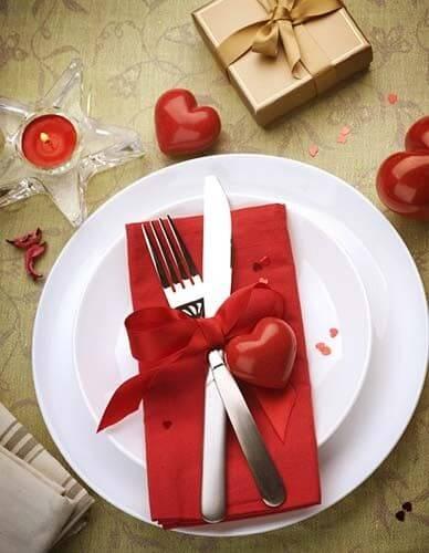 Simple Valentine's Day dinner ideas