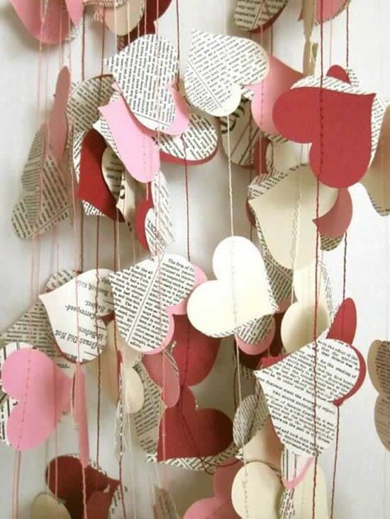 Simple Valentine's Day ideas made by yourself