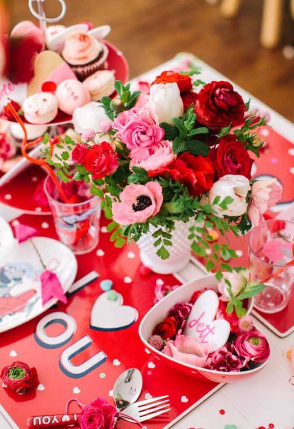 Red and pink Valentine's Day Ideas