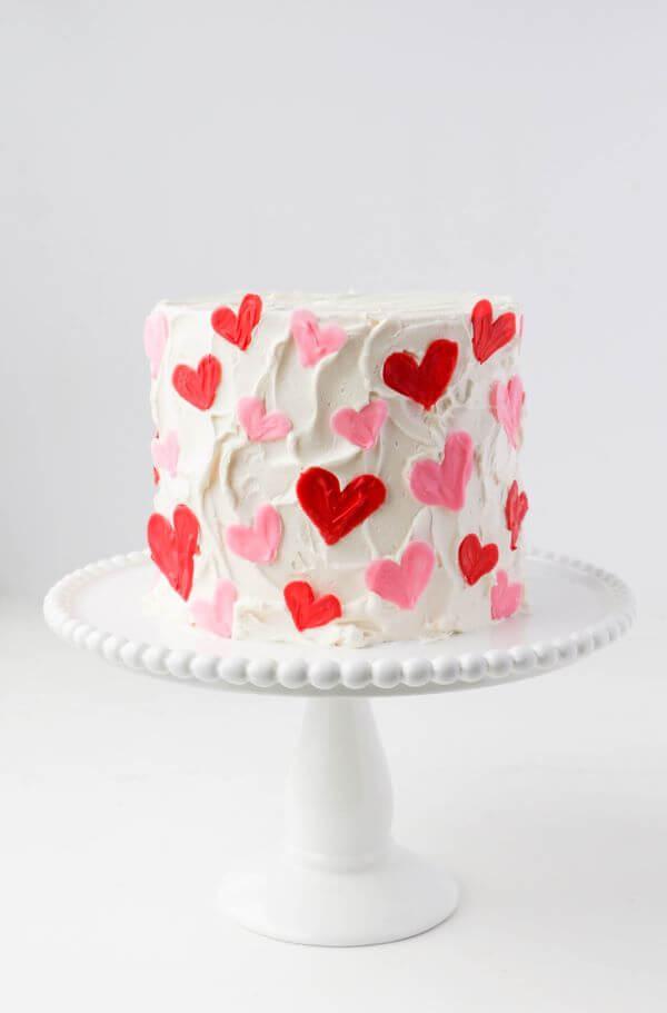 Valentine's Day Ideas: Decorated Cake