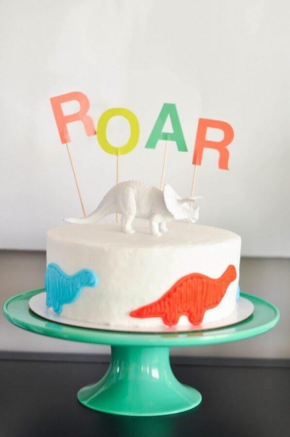 dinosaur party cake baby Photo 100 Layer Cake