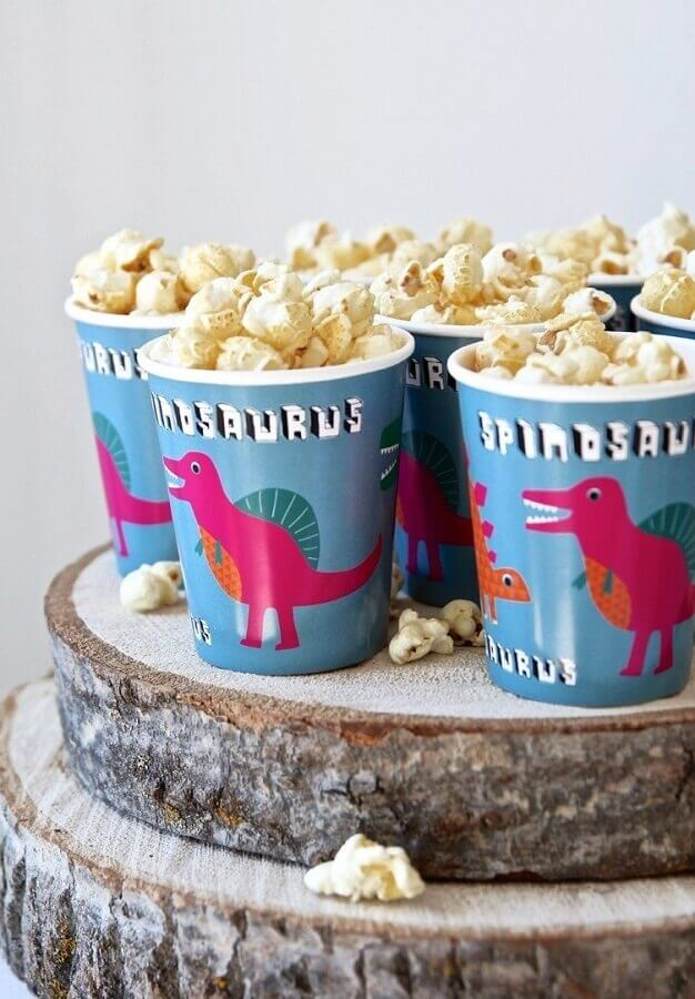 dinosaur party cups Photo Atelie of Parties