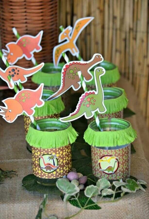 Personalized glasses for kids party dinosaurs Foto Dale Detalles