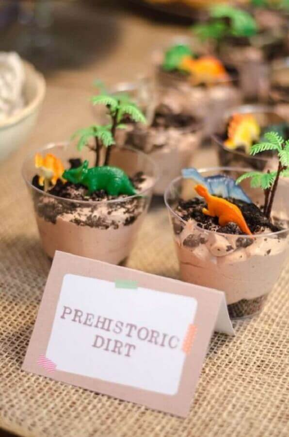 Dinosaur Party Candy Jars Photo Made by Dinda