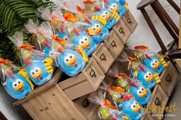 Chicken's birthday souvenirs