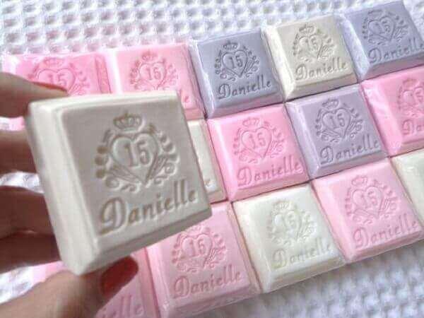 Handmade soap birthday souvenirs