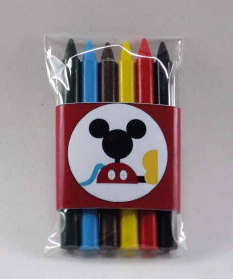 Mickey's birthday memories with custom packaging