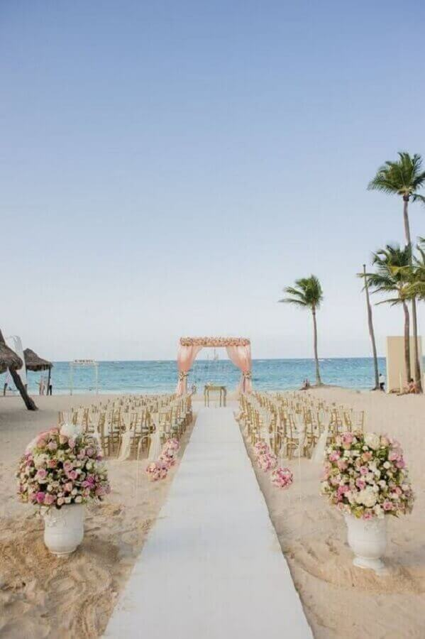 colors for wedding on the beach Photo VD Magazine