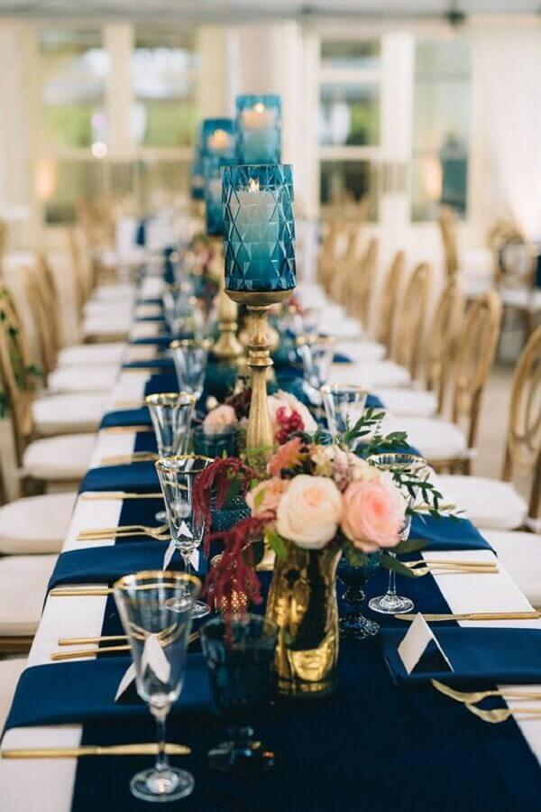 wedding colors blue and white Foto Sage Nines