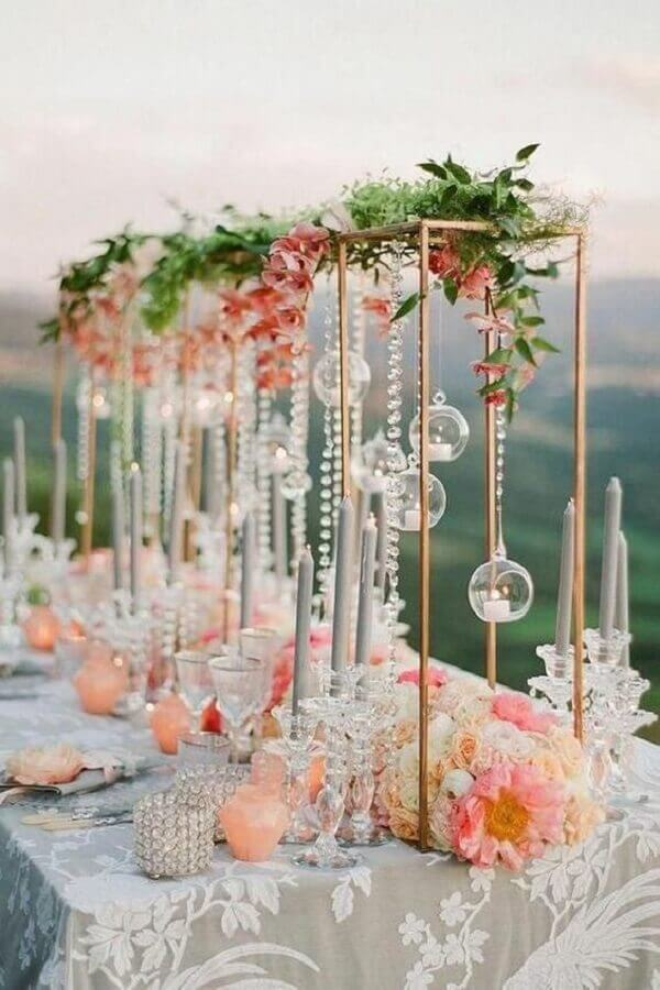 colours for romantic style wedding party Photo Every Golden Detail - Weddings & Events