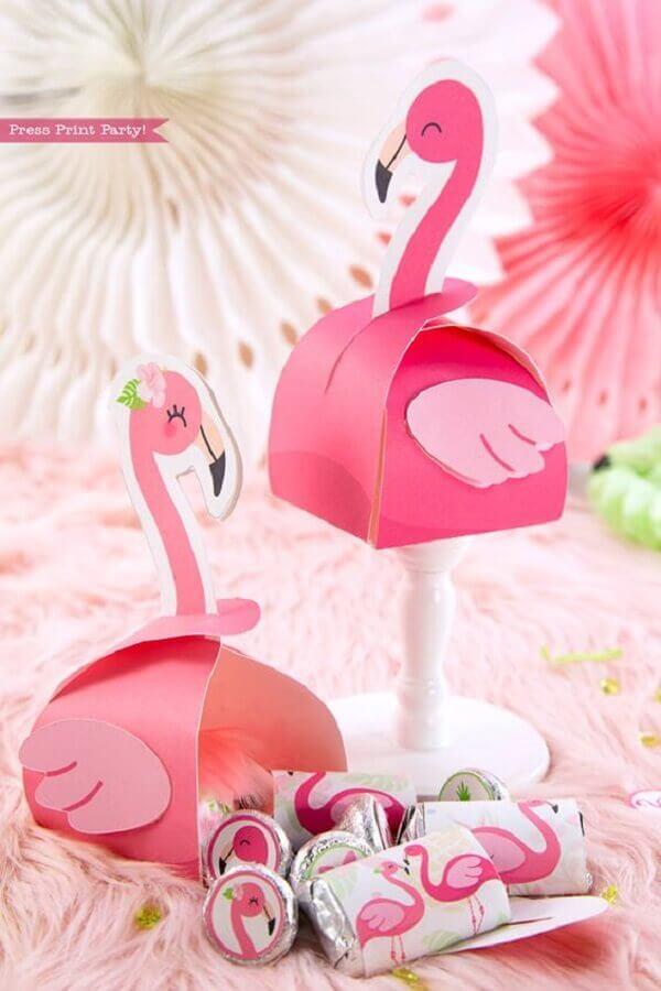 Personalized souvenir boxes for Flamingo Photo Press Print Party!