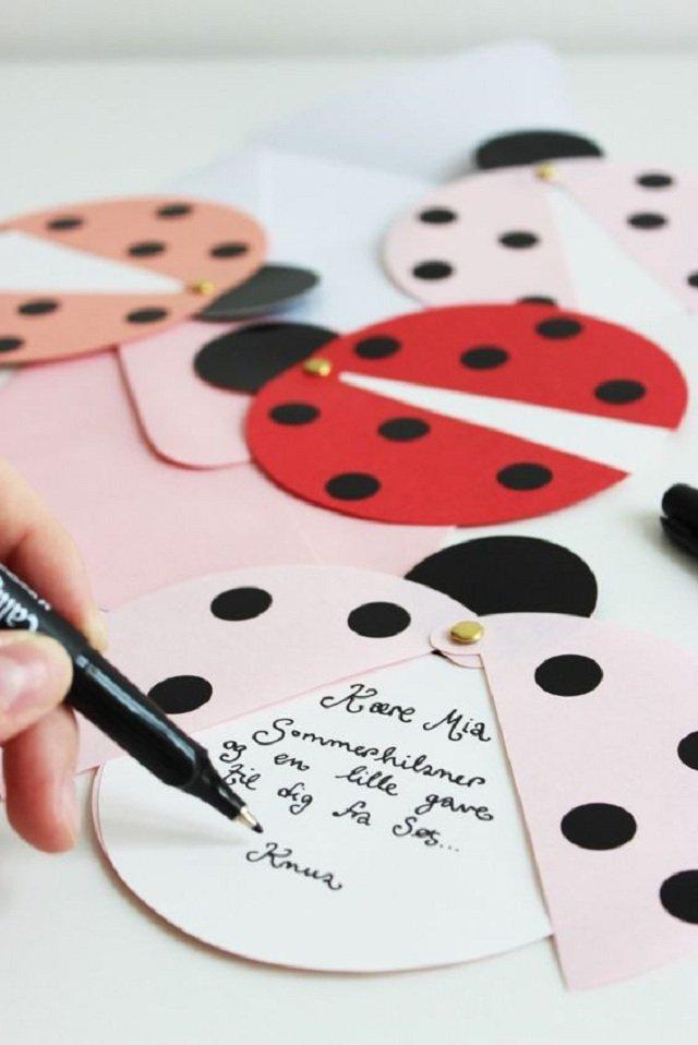Ladybug's Birthday Invitation