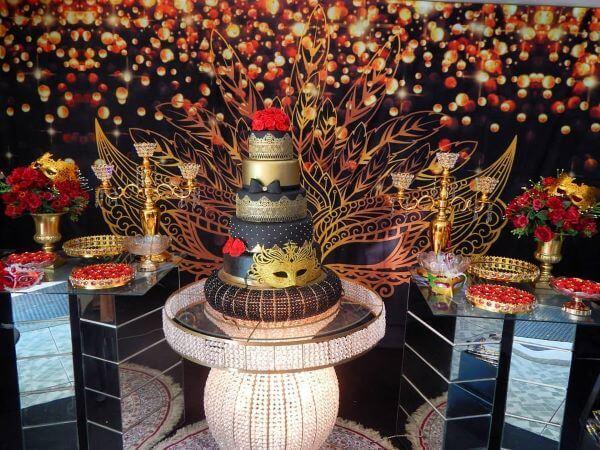 Decoration masquerade ball