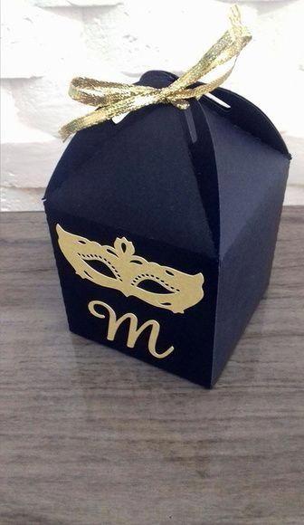 Custom Box for Masquerade Ball